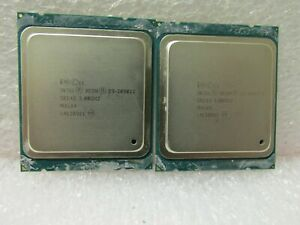 Matching Pair of Intel Xeon E5-2690 V2 10 Core 3GHz 25MB Server Processor SR1A5