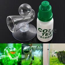 Conjunto CO2 pH-Permanent Vidrio Cristal Checker Prueba Test Agua Acuario