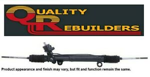Rack and Pinion Complete Unit-Power Steering QUALITY REBUILDERS 22101