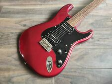1983 Squier Japan ST-552 SQ Series HH Contemporary Stratocaster (CA Red)