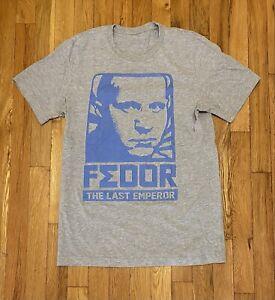 Fedor Emelianenko The Last Emperor shirt MMA Pride UFC Strikeforce Russia