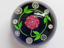 PERTHSHIRE P1975 TUDOR ROSE PAPERWEIGHT LTD EDITION 376 OF 400 (Ref2126)