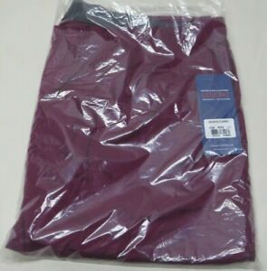 2XL Scrubs Cherokee Workwear Mid Rise Cargo Pant 4005 WINE Free Shipping winw