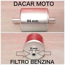 FILTRO BENZINA 8mm PER APRILIA BMW CAGIVA DUCATI MOTO GUZZI TRIUMPH