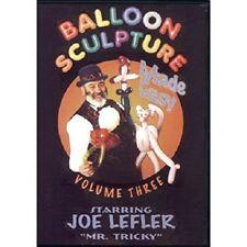 Balloon Sculpture Made Easy #3 Dvd by Joe Leftler