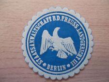(12745) Siegelmarke - Staatsanwaltschaft Landgericht III Berlin