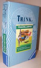 Think Traveller s Das rasante Kartenspiel für Schnellseher und Blitzdenker NOS