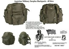 Austrian Military Surplus 45L Back Pack  O.D. New Old Stock