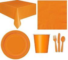 Naranja cubiertos Plástico calidad paquete de 24 Cumpleaños fiesta boda Amscan