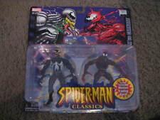 2001 MARVEL / TOY BIZ SPIDER-MAN CLASSICS : VENOM VS CARNAGE 2 PACK FIGURES