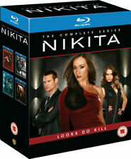Nikita Seasons 1 to 4 Complete Collection Blu-ray UK BLURAY