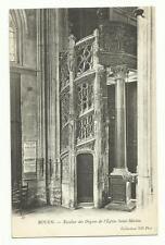 Rouen,  l'Eglise Saint-Maclou, France old postcard