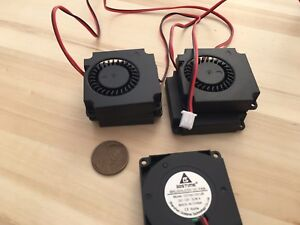 4 Pieces 4010s Gdstime Centrifugal dc 40mm 12V computer blower Fan brushless C4