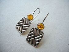 Silpada Amber Fashion Earrings