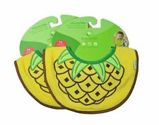 Green Sprouts Stay-Dry Bibs Pineapple 2 Pack