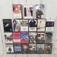 21 Classic rock Cassette tapes Beatles Pink Floyd Led Zeppelin Bob Dylan moody b