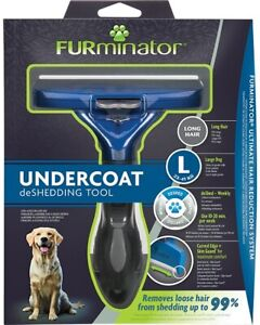 Furninator Large Dog Long Hair Undercoat Deshedding tool Genuine UK Seller