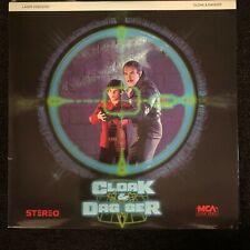 CLOAK & DAGGER Laserdisc LD [40124]