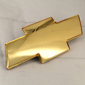 For Chevrolet Silverado 1999-2006 Grille Emblem Bowtie Front Grill Gold Badge US