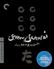 Seven Samurai Blu-ray 2 Disc Criterion Collection