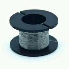 Kanthaldraht Ø 0,1 mm, Heizdraht Widerstandsdraht, NiChrome-draht, 30m-Spule