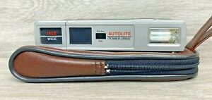 AA Autolite Power Drive Telewide Camera with case - Battery tested only - VGC