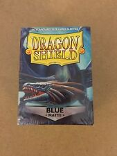 Dragon Shield: Standard Matte Card Sleeves - Blue 100ct