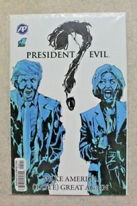 Donald Trump Comic Trump's Titans vs Dark Donalds President Evil #1 Lot of 7