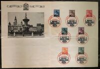 1940 Prague Bohemia Moravia Germany Souvenir Sheet First Day Cover Centenary