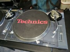 Technics SL-1200MK2 Direct-Drive DJ Turntable -with new CHROME SKIN Installed!