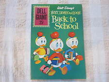DELL GIANT SIZE HUEY DEWEY AND LOUIE BACK TO SCHOOL #49 COMIC HIGH GRADE CGC IT!