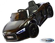 Kinderfahrzeug 12V Kinder Elektro Auto Audi R8 Spyder EVA Gummiräder Ledersitz