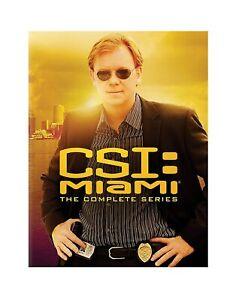 CSI MIAMI COMPLETE SERIES SEASON 1-10 DVD BOXSET 59 Discs New & Sealed