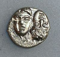 MOESIA, Istros. Circa 340/30-313 BC  Silver  Diobol aXF