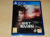 Get Even PS4 Playstation 4 **FREE UK POSTAGE**