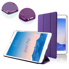Purple Leather Case For APPLE iPad Pro 12.9 Cover w/ Sleep Mode