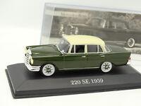 Ixo Presse 1/43 - Mercedes 220 SE Verte 1959
