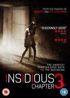 Insidiosa - Chapter 3 DVD Nuevo DVD (EO51913D)