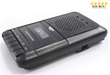 More details for bush portable desktop cassette player & recorder with built-in mic & mp3 player