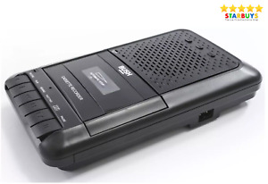Bush Portable Desktop Cassette Player & Recorder with Built-in Mic & MP3 Player