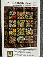 From My Heart to Your Hands: Folk Art Applique A Celebration Quilt Pattern UNCUT