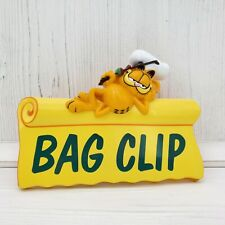 Vintage Giftco Inc Garfield the Cat Plastic Chip Bag Clip