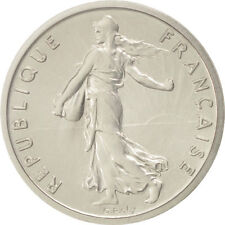[#91993] Coin, France, 1/2 Franc, 1971, MS, Nickel, KM:P424, Gadoury:91.P1