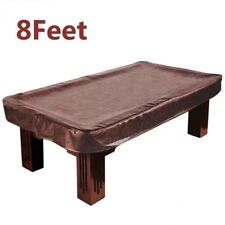 8 ' Foot Heavy Duty Fitted Pool Table Billiard Cover Emulsion Leather