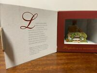 lilliput lane  classics Jasmine  cottage ex shop stock  never displayed