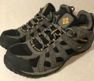 Columbia Tech Lite Redmond BM3938-010 Hiking Shoe Men's Size 9.5 Gray Waterproof