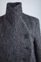 Runway H&M Studio Collection AW 2016 Alpaca Coat Wool Jacket Wrapover S M L