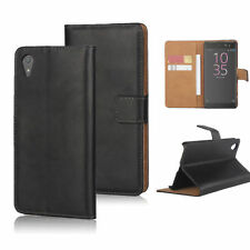 Leather Plain Mobile Phone Cases, Covers & Skins for Sony Xperia X