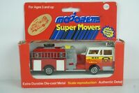 Majorette Super Movers Diecast US Fire Engine #3033