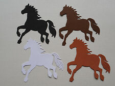 Horse Galloping Paper Die Cuts x 2 Sets Scrapbooking Card Topper Embellishment